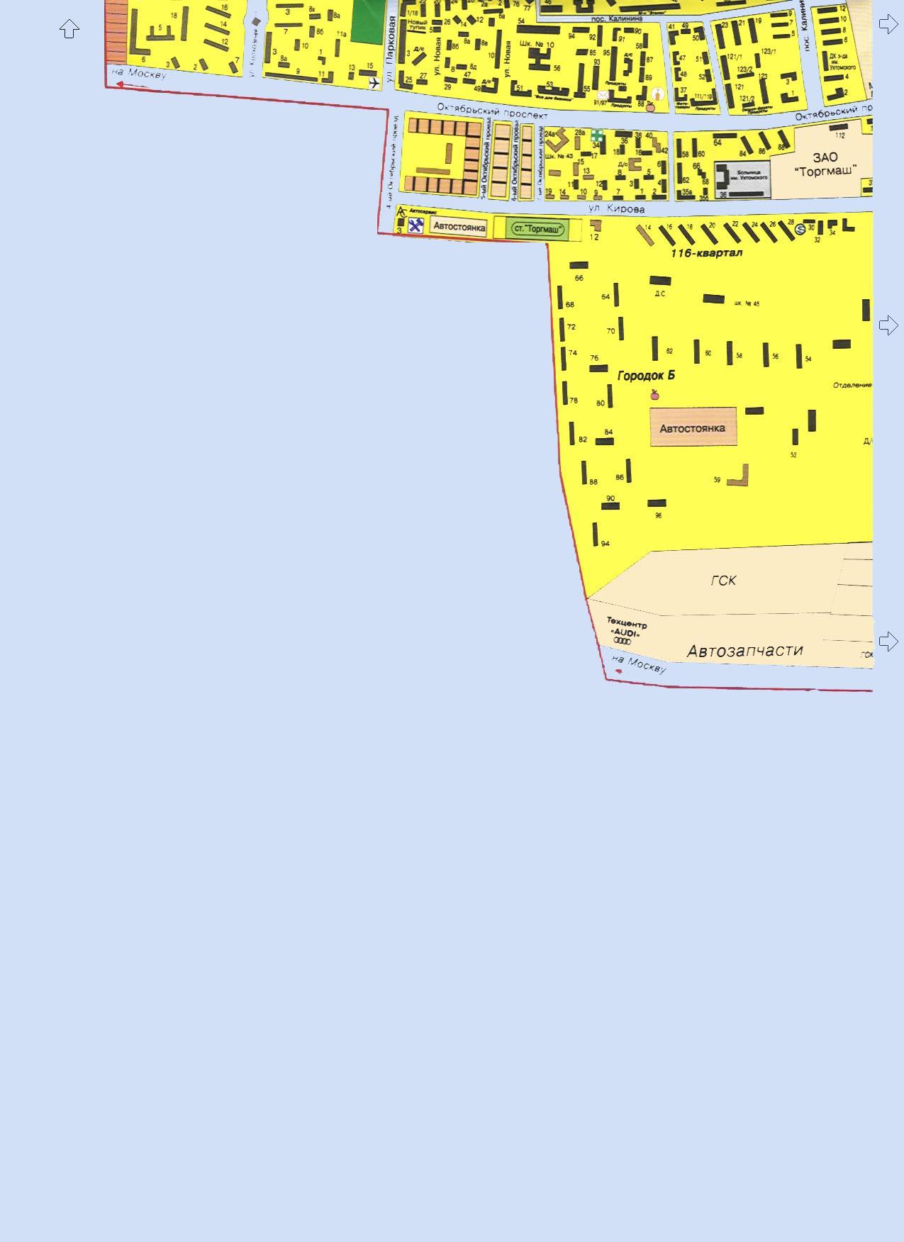 Карта города Люберцы: улица Кирова, поселок Калинина: http://www.314159.ru/lub4.htm